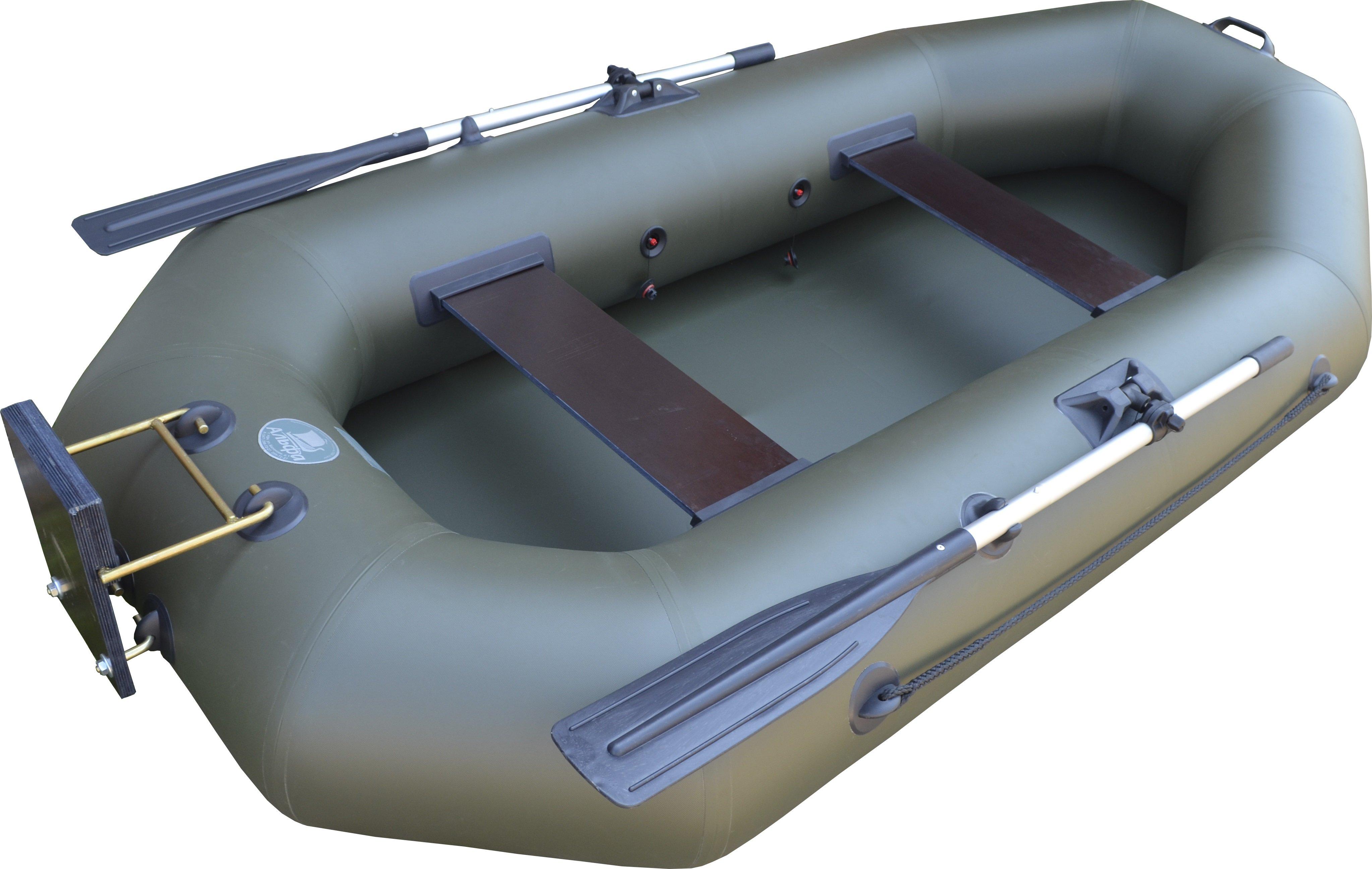 мотор с целью подставной  лодки без участия транца
