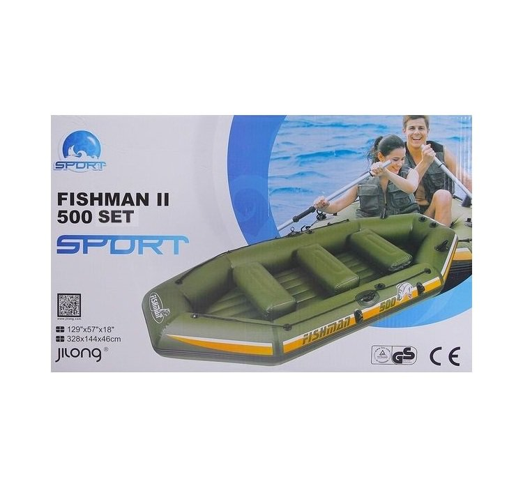 Упаковка лодки FISHMAN II 400 SET